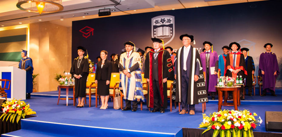 UOWD confers first Doctorate