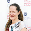 Ms Anne-Marie Amato, the Academic Advisor and an English Language Instructor at UOWD