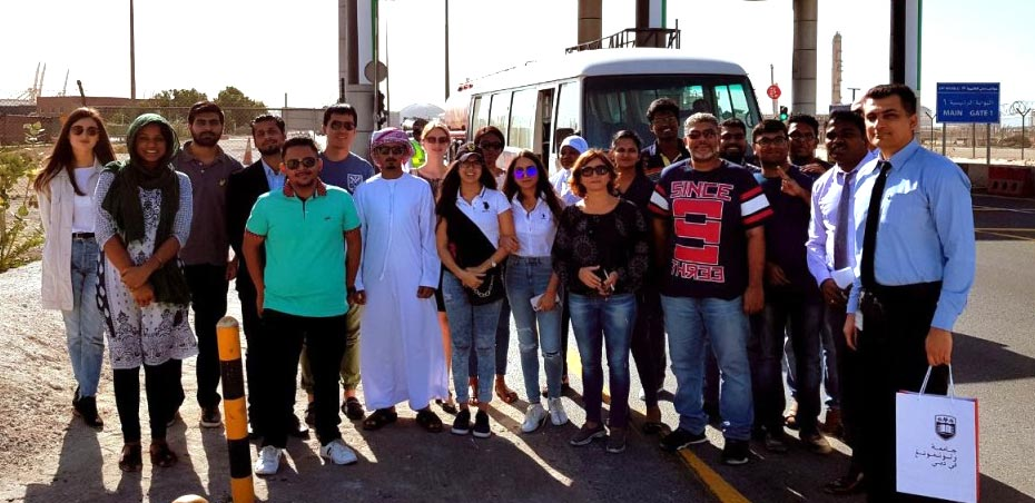 MSc Logistics students captivated by industry tour to Dubai Port World