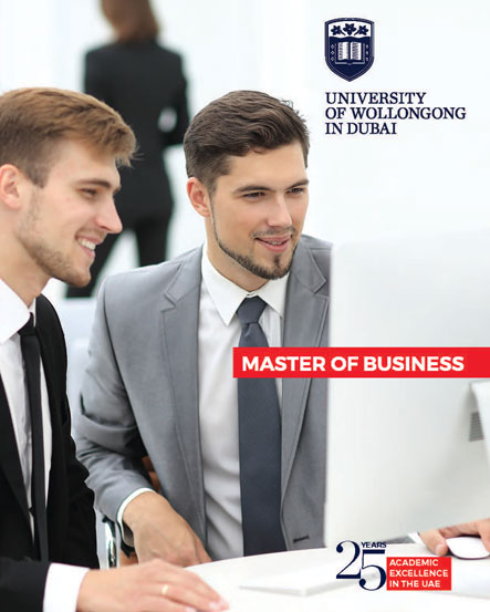 Master of Business Brochure