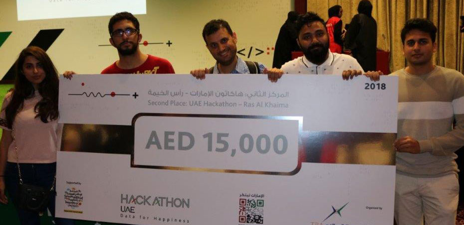 UOWD's king of hackathons on top of his game!