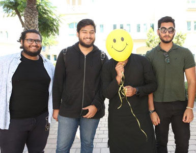 UOWD celebrates International Day of Happiness with Happiness Carnival