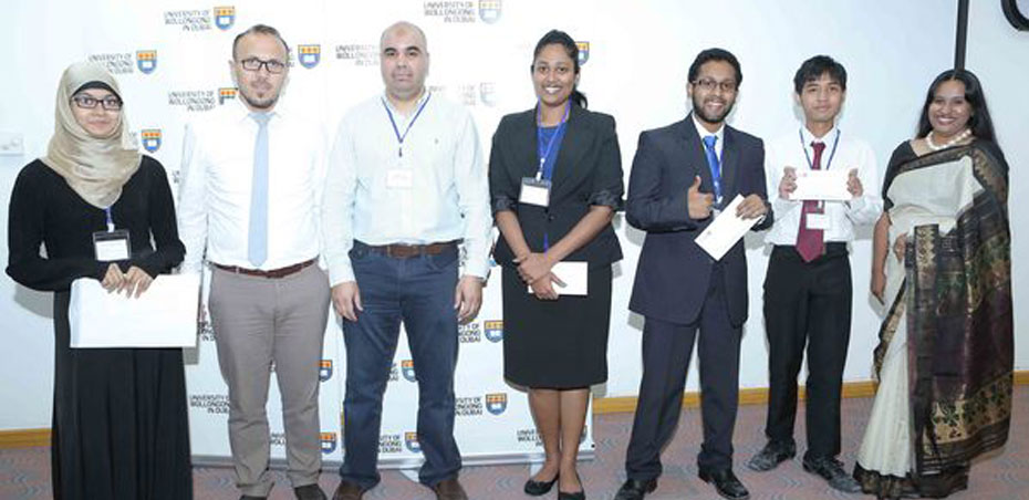 UOWD Software Development Tradeshow showcases student inventions from across the UAE