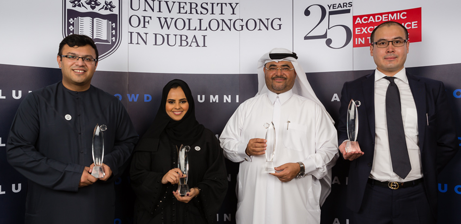 Innovation, leadership and entrepreneurship rewarded at UOWD's Annual Alumni Awards