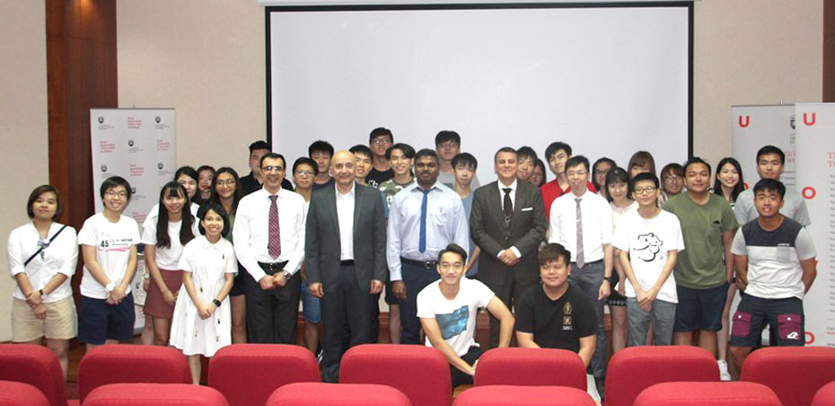 University of Wollongong in Dubai welcomes students from CCCU, Hong Kong