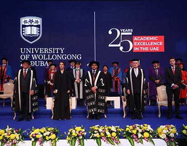 UOWD Autumn 2018 Graduation Ceremony