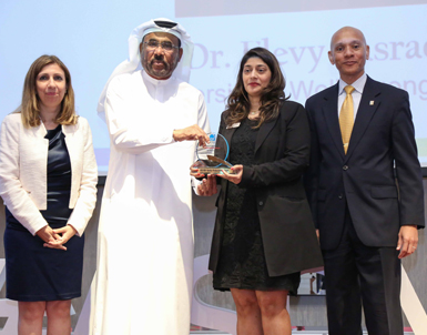 UOWD quality expert honoured with the ASQ-UAE Quality Professionals Award