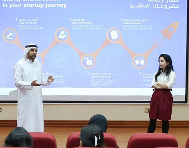 "UOWD collaborates with Dubai Startup Hub to host workshop on ""Clarity and Direction in your Startup Journey"""