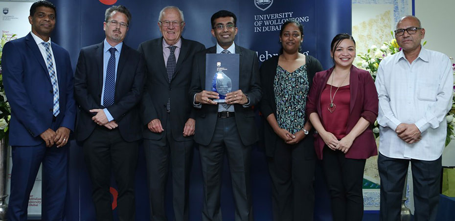 UOWD gives recognition to employees at Staff Excellence and Service Awards