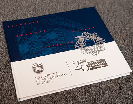 UOWD 25th Anniversary Coffee Table Book