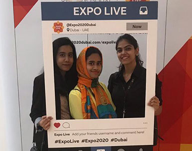 Team UOWD reaches semi-finals in the Expo Live University Innovation Program