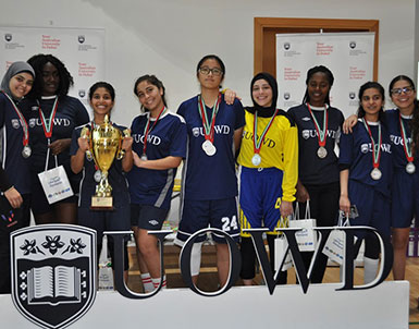 UOWD and Middlesex share the limelight during recent sports tournament