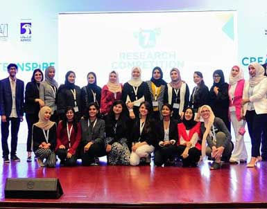 Marketing students triumph in regional research competition